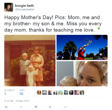 mom tweet