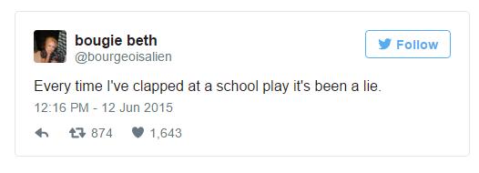 school play tweet